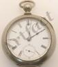 Atlas Key Wind Pocket Watch