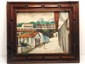 A.V. Menchaca Oil On Canvas Street Scene