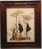 A.V. Menchaca Oil On Canvas Street Vendor Scene