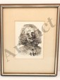 Salvador Dali Signed Etching w/ Authenticity