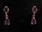 14 Kt Gold Gemstone Earrings #5