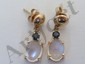 14 Kt Gold Gemstone Earrings #6