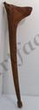 Folk Art Figural Handle Walking Stick