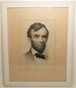 Joseph Decamp Lithograph of Abraham Lincoln