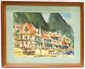 Becker 1968 Watercolor Soufriere, St Lucia