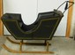19th C Child's 2 Seat Sleigh w/ Bells