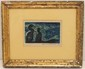 Leonard Maurer Wood Block 'Sea Birds'