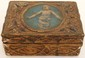 Italian Gesso Over Wood Box Early 20th Century
