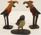 Vintage Cast Iron Parrot Bottle Openers & Bird