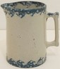 Vintage Spongeware Batter Pitcher
