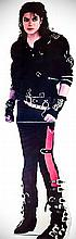 MICHAEL JACKSON LIFE SIZE STAND UP FROM THE BAD RECORD