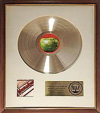 THE BEATLES RIAA AWARD