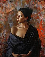Laura, oil painting by Tim Tyler
