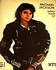 Michael Jackson BAD tour programme
