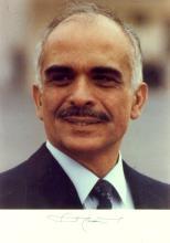 KING HUSSEIN of Jordan - Photo Signed
