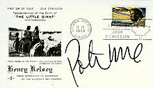 Graphic Artist PETER MAX - Postal Cvr Signed