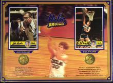 UCLA Legends JOHN WOODEN & BILL WALTON - Signatures