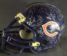 1996 CHICAGO BEARS - Helmet Team Signed