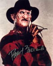 Actor ROBERT ENGLUND - Freddy Krueger Photo Signed
