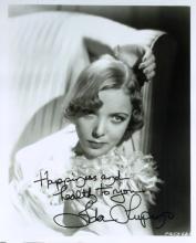 Actress, Filmmaker IDA LUPINO - Photo Signed
