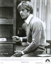 Actor ROBERT REDFORD - Color Photo Signed