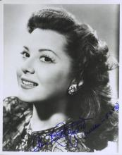 GWTW Actress ANN RUTHERFORD - Photo Signed