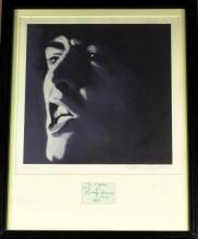 Beatle GEORGE HARRISON - Signature Framed