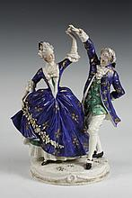 CAPODIMONTE FIGURINE - Early 19th c