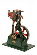 MODEL STEAM ENGINE - A Well-Engineered Mid 20th c