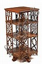 Heywood Wakefield Wicker & Oak Bookcase Ca 1910