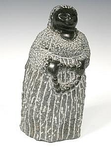 African Stone Shona Sculpture by Colleen Madamombe