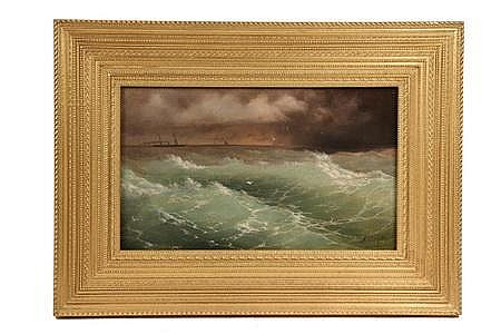 OOB 'High Green Waters' by Ivan C Aivazofsky