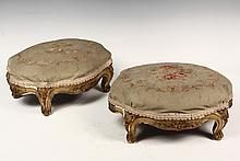 PAIR OF FRENCH FOOTRESTS - Mid 19th c
