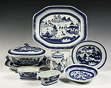 (8 PCS) CHINESE EXPORT PORCELAIN - 19th c