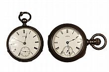 POCKET WATCHES - Lot of (2) Waltham Pocket Watches.