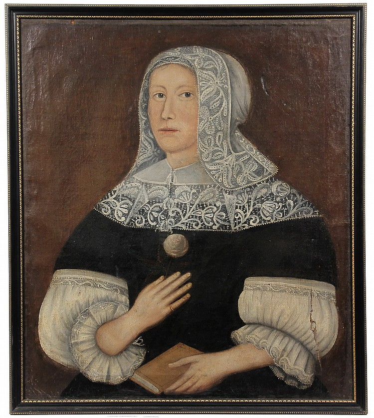 OOC - 17th c Portrait of Woman SS: 30