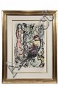 COLOR LITHOGRAPH - 'La Famille au Coq' by Marc Chagall (Russia/France, 1887-1985), artist's proof 15/25, pencil numbered and signed,