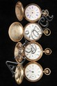 (4) POCKETWATCHES - Lot of (4) man's antique hunter case pocketwatches.