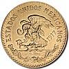 Mexico 1917 20 Pesos Gold Coin (AU/BU) - L30819