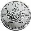 1991 1 oz Silver Canadian Maple Leaf (Brilliant Uncirculated) - L31496