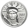 2002 1/10 oz Platinum American Eagle - Brilliant Uncirculated - L30164