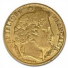 France 1850-1851 10 Franc Gold (Avg Circ) Early Head Ceres - L31151