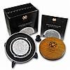 2011 1 Kilo (32.15 oz) Silver Aztec Calendar Coin (W/Box & Coa) - L24964