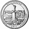 2011 Silver 5oz. Gettysburg ATB - L18012