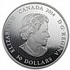 2014 2 oz Silver Canadian $30 Coin - Canadian Contemporary Art - L29319