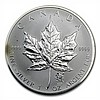 Canadian 1 oz Silver Maple Leaf-Lunar Privy - Abrasions/Spotted - L28603