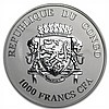 Congo Republic 2013 Silver Proof Black Beauties - Black Leopard - L27555
