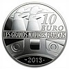 2013 10 Euro Silver Proof Great French Ships - L'Amazone - L28555