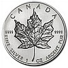 2001 1 oz Silver Canadian Maple Leaf (Brilliant Uncirculated) - L31506