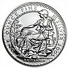 2005 1 oz Silver Britannia (Brilliant Uncirculated) - L30109